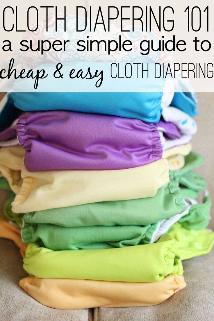 Cloth Diapering 101 A Super Simple Guide Cloth diapers