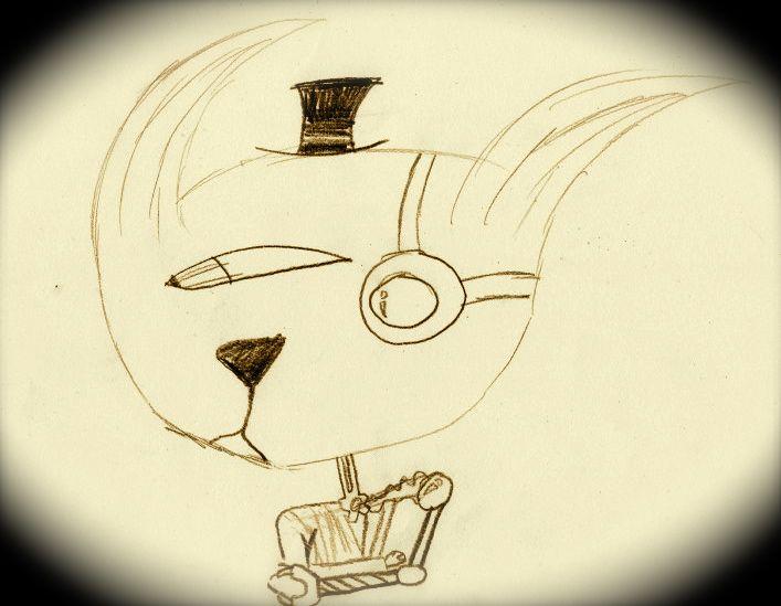 Cyborg Cat #ByGabrielFargher