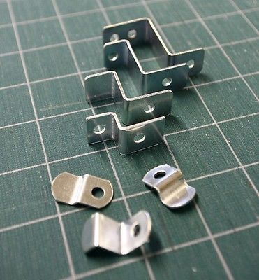 offset clips with screws canvas clips picture framing supplies