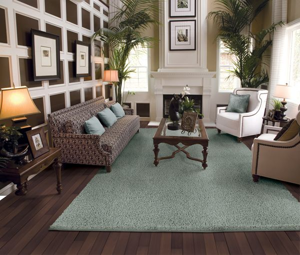 Living Room Rug On Carpet