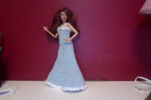 Winter princess gown free pattern