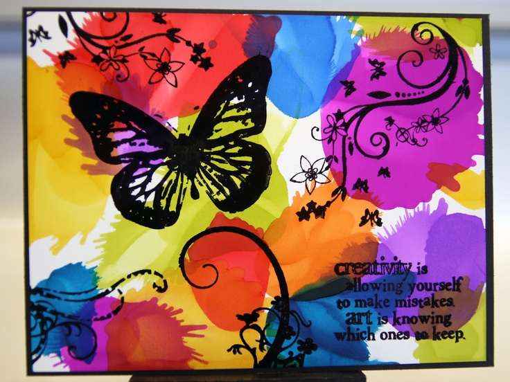 Art Is Knowing Which Ones To Keep | Color Outside The Lines  Unity Stamp Co.: Color
