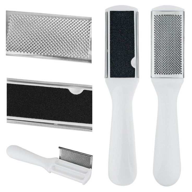 Double Sided Foot File Hard Skin Corn Remover Grater Pedicure Tool