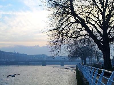 The River Shannon, Limerick City, Ireland