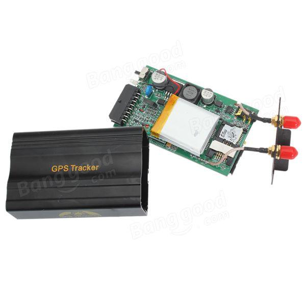 Vehicle Car GPS Tracker 103B with Remote Control Car Alarm System - US$36.99