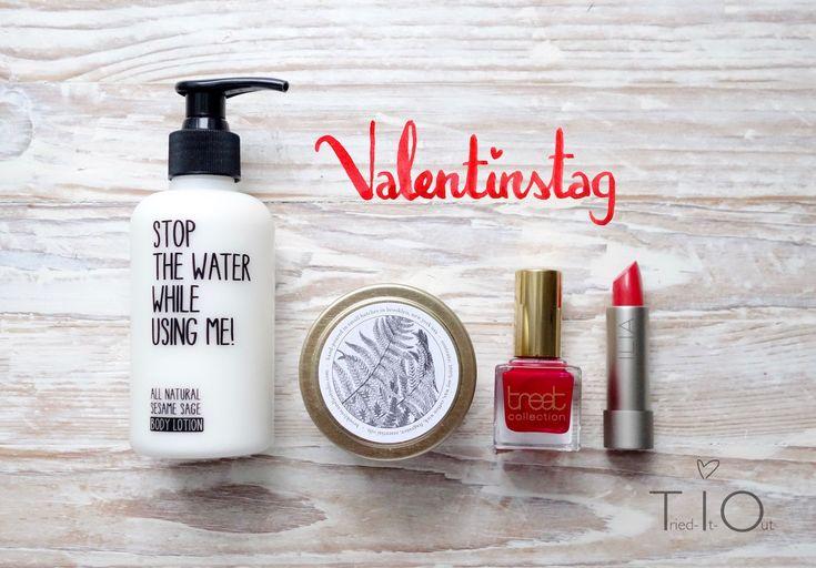 Die Valentinsbox von Spatacular! Bist du Team Rot oder Pink? :)