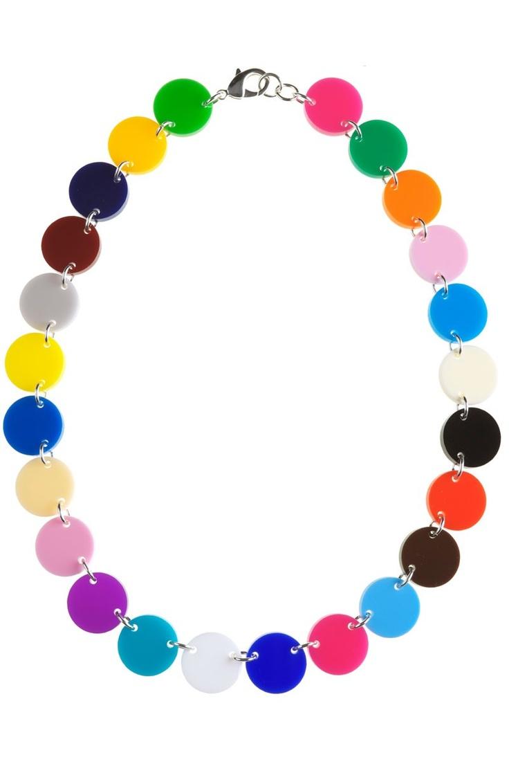 Tatty Devine & Tate Colour Spot Small Link Necklace. https://www.tattydevine.com/shop/collaborations/tate/tatty-devine-tate-colour-spot-small-link-necklace.html#