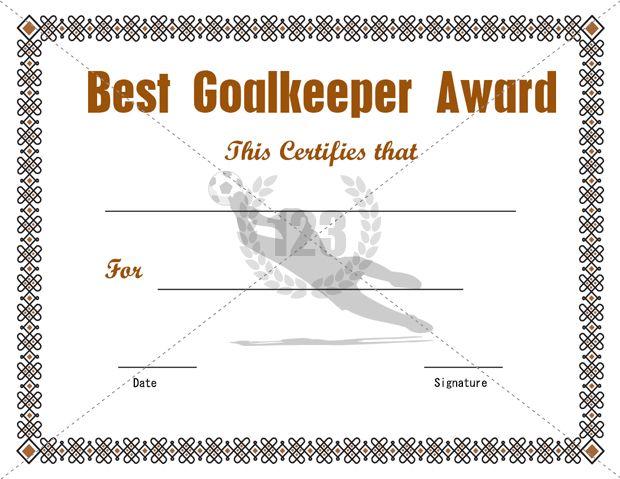 Example Of Award Certificate Kids Award Certificate Template – Example of Award Certificate