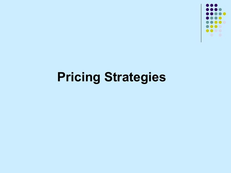 PPT on pricing strategies by ITC Limited via slideshare
