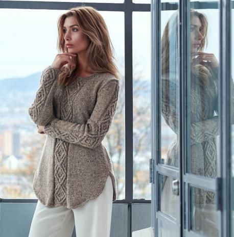 Oydis Sweater (Pattern) - Linda Marveng