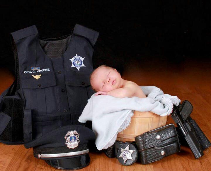 Police newborn @Sarah Chintomby Hayes