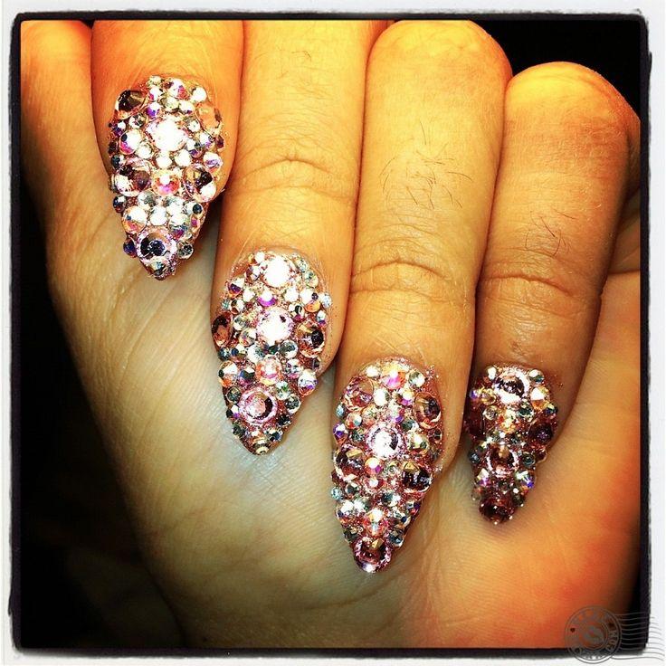 Blac Chyna treasure nails... love it