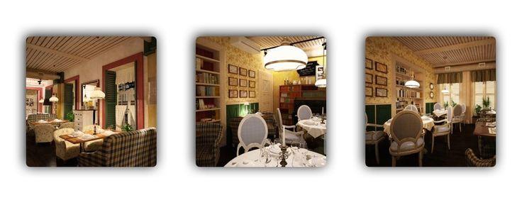Дизайн кафе-ресторанов. Отличное решение, пронизанное атмосферой домашнего уюта