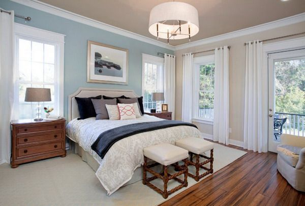 Master Bedroom Ideas Within Blue Bedroom Color Scheme For The Home Pinterest Master