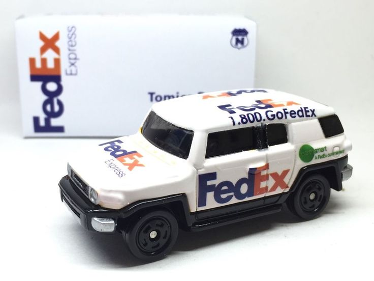 JAPAN TOMY TOMICA FEDEX EXPRESS DELIVERY CAR TOYOTA FJ CRUISER 1/66 DIECAST RARE | Toys & Hobbies, Diecast & Toy Vehicles, Cars, Trucks & Vans | eBay!