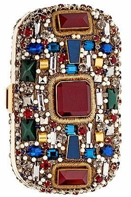 Jeweled Clutch Bag by Emilio Pucci | HT