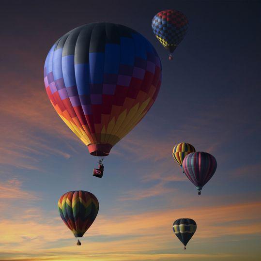 Vuelo en globo - Creativando #TeamBuilding #Aventura