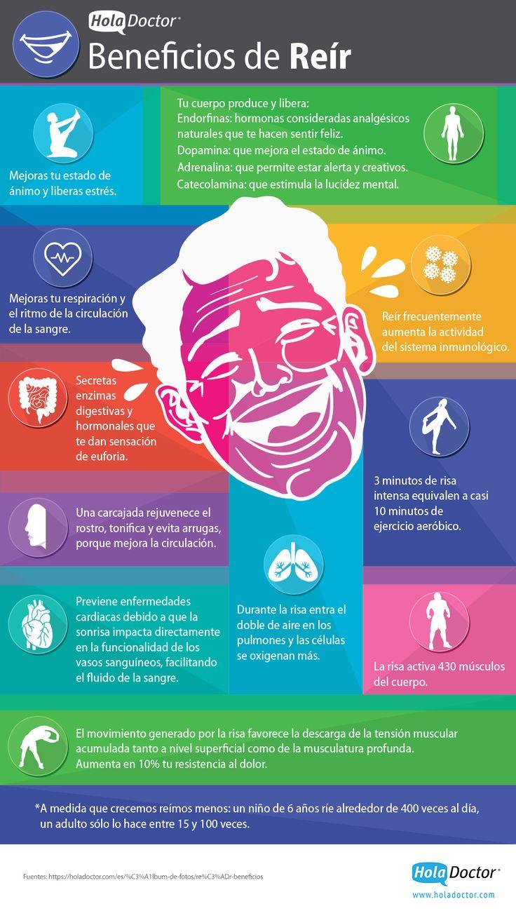 Conoce los grandes beneficios de la risa para tu salud. Lee más detalles aquí: http://bit.ly/1tfWWPn