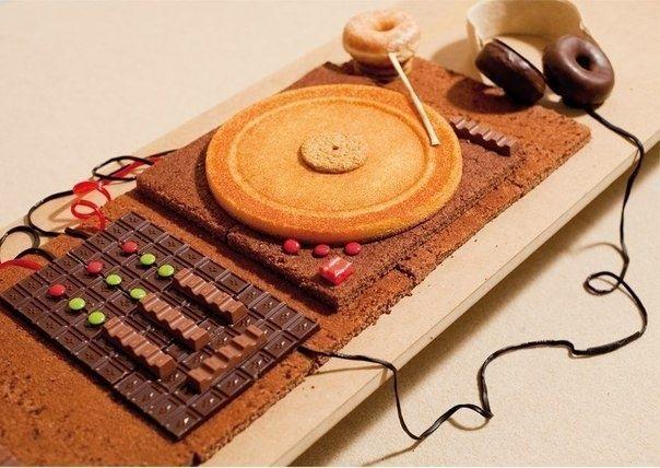 Торт для DJ