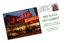 Great shopping experience at Pike Place Fish Market in Seattle.  Fresh Seafood/Entertaining. FPO-Bucket
