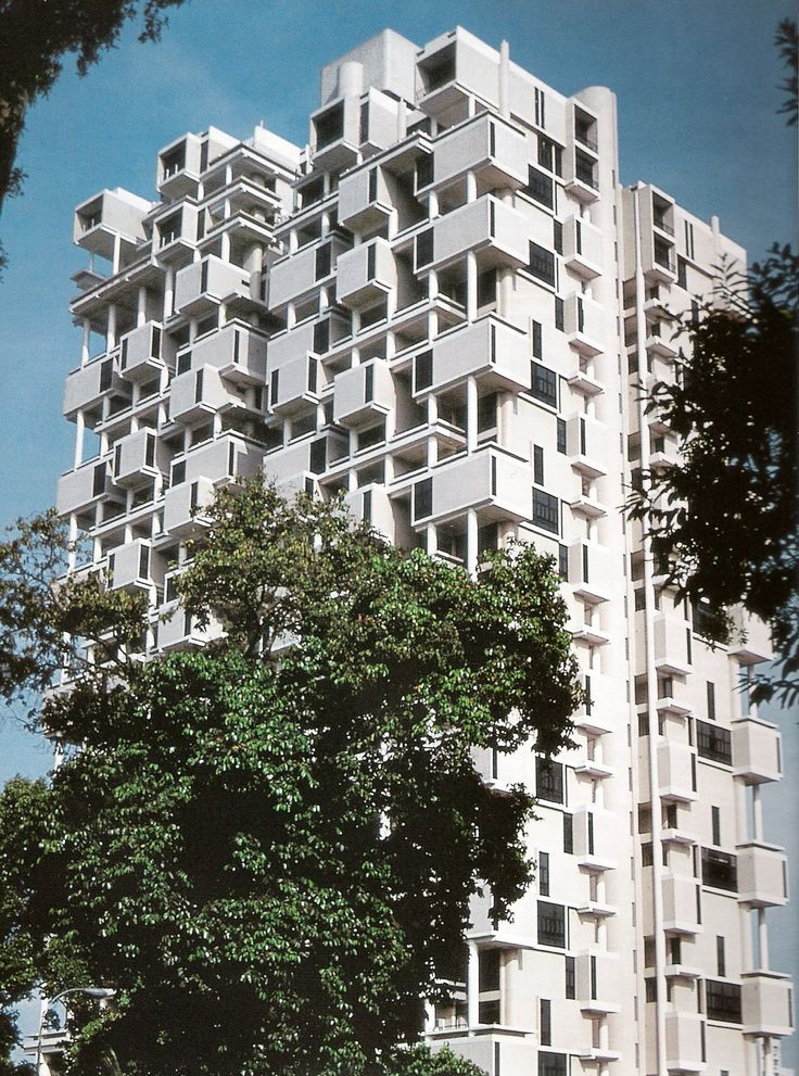 Colonnade, Paul Rudolph