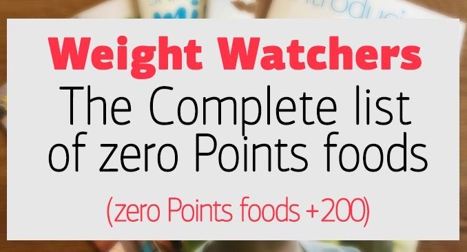 With over 200 foods to choose from, there's always something delicious to eat. Here it is: an expanded list of all 200+ zero Points foods.* Thefoods on this list form the foundation of a healthy eating pattern, so you don't need to weigh, measure, or track any of them. Enjoy!  Apples Applesauce, unsweetened Apricots …
