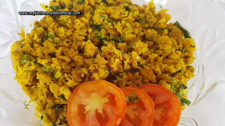 Breakfast Egg Bhurji Recipe in Hind | Indian Street Food | My Kitchen My Dish – …