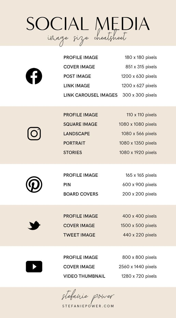 2019 Social Media Image Size Guide – #Guide #Image #manager #Media #Size #Social