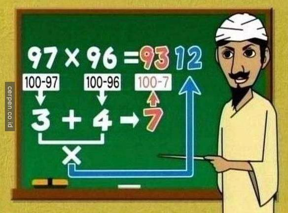 Salahkan Gurumu Jika Mereka Tidak Mengajari 9 Cara Menghitung Ini!