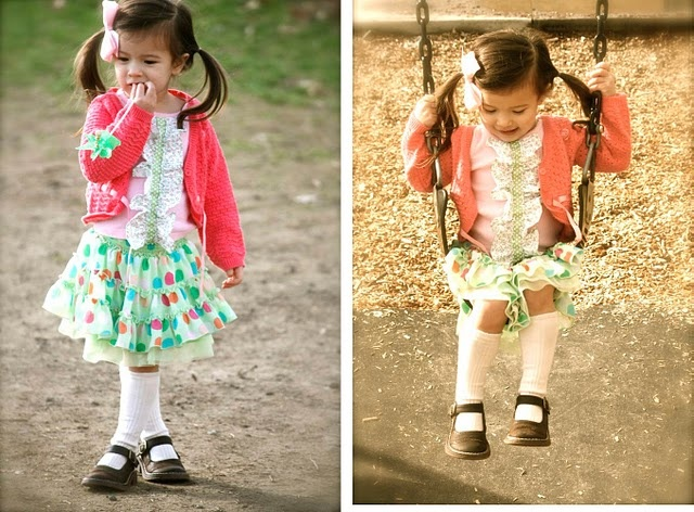 Upcycling children's clothes to make them last longer -- Part 1.