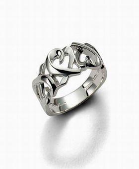 Tiffany & Co Paloma Picasso Loving Heart Ring
