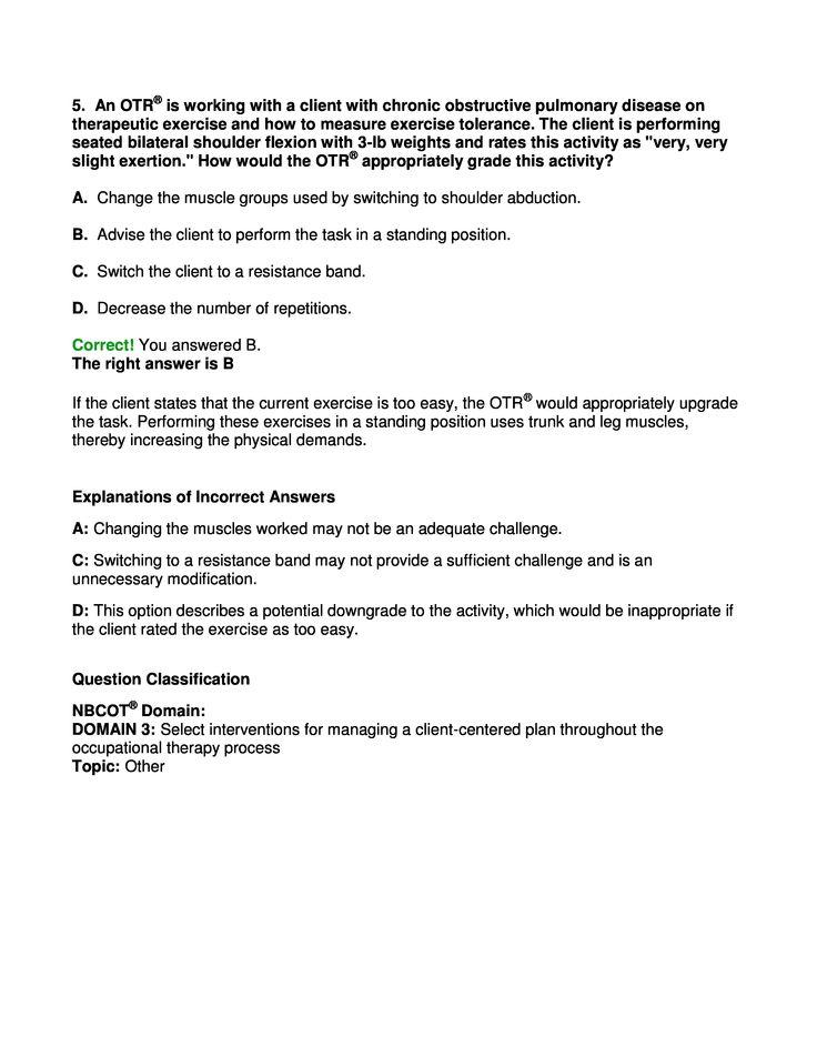 aota nbcot exam prep pdf