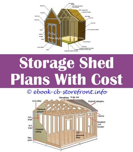 10 Inspired Cool Tricks: Shed Plans 8 X 14 Building Shed ...