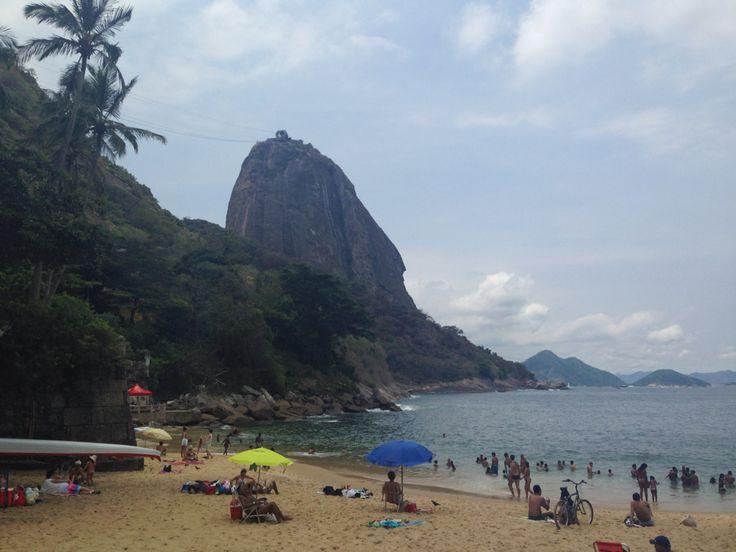 Praia Vermelha next to Pão de Açucar, Rio de Janeiro, Brazil