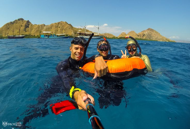 Fundives and courses in the Komodo national park with UberFreediveKomodo