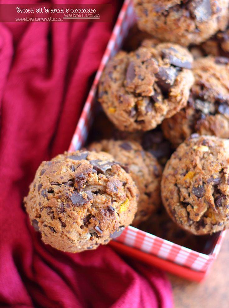 biscotti arancia e cioccolato vegan