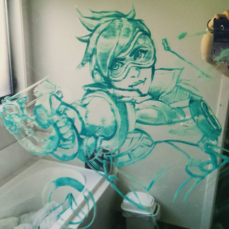 "15 Likes, 1 Comments - Aliesha Doggett (@leesharara) on Instagram: ""#Overwatch count down on my bathroom mirror? Yeah... Guess you could say I'm a little excited...…"""