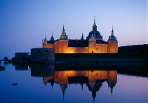 Kalmar Castle at night. Sweden     Our kids and we walked all around this castle.     sll
