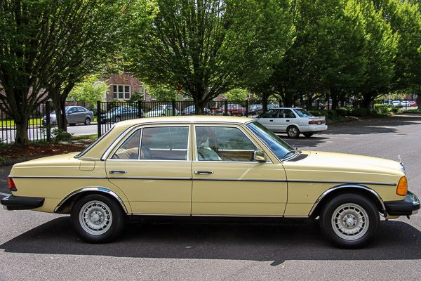 34 best mercedes benz 240 d images on pinterest for Mercedes benz portland