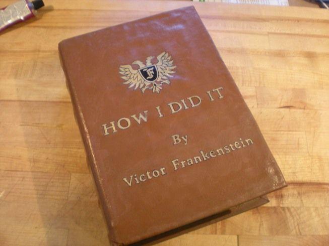 Young Frankenstein Book how-to - HauntForum