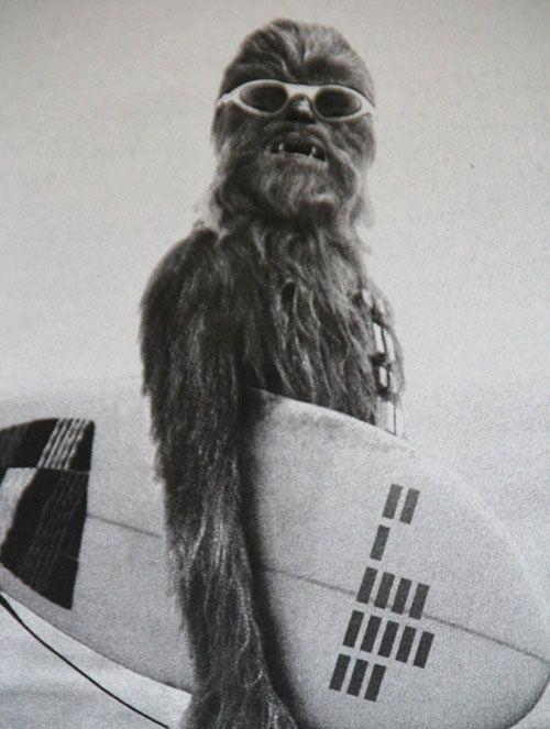 Surfin Chewbacca