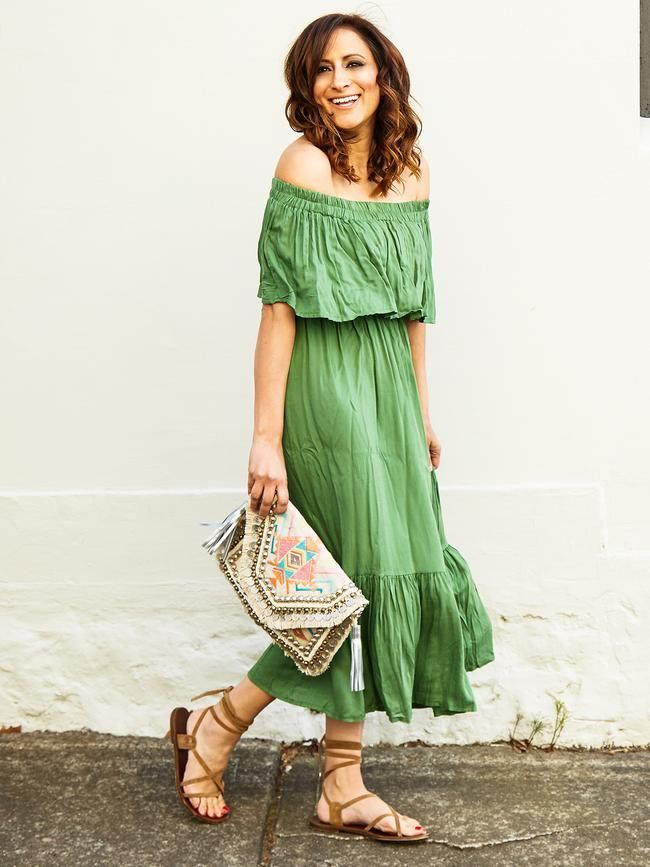 PERFECT MATCHA MAXI DRESS - SWIISH by Sally Obermeder. BUY IT NOW
