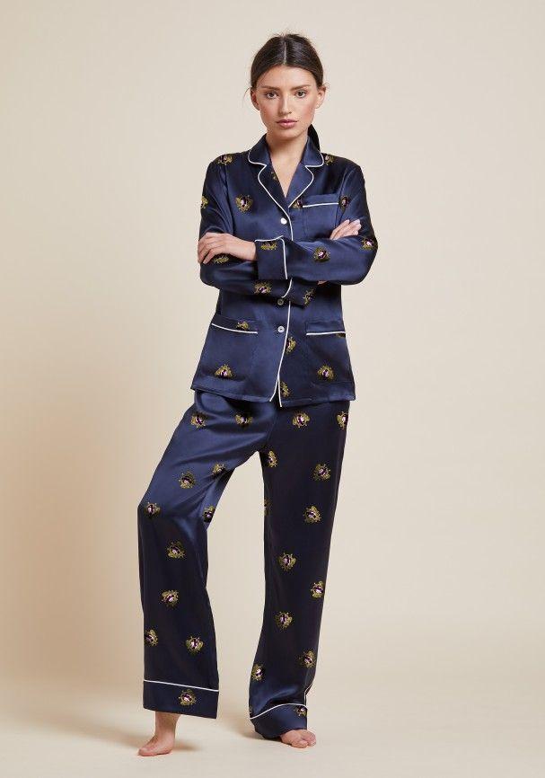 Lila Clyde Silk Pyjama  d6edba917