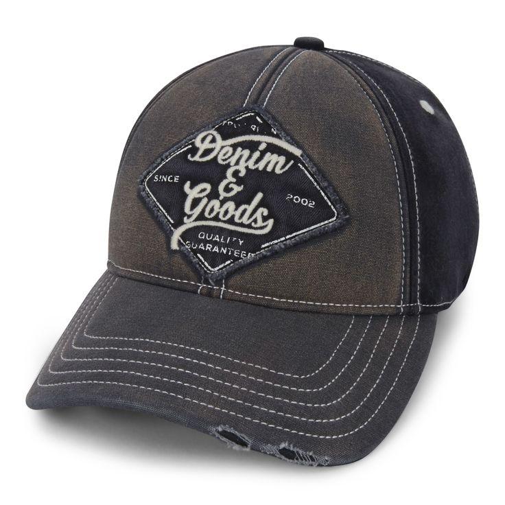 TRUE RELIGION Denim & Goods Baseball Cap | Black (TR2310)