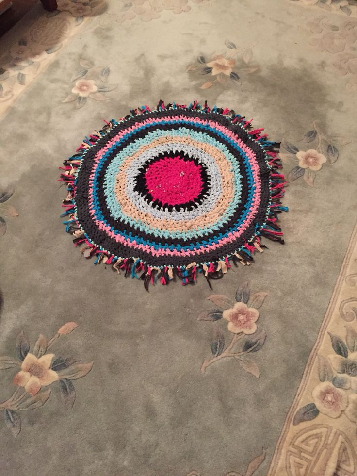 Hand-Made Carpet With many  Colors