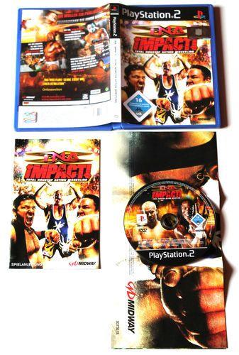 TNA iMPACT! Total Nonstop Action Wrestling für Playstation 2 in OVP!