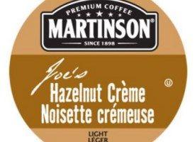 Martinson Joe's Hazelnut Creme Light Roast Real Cups 24ct