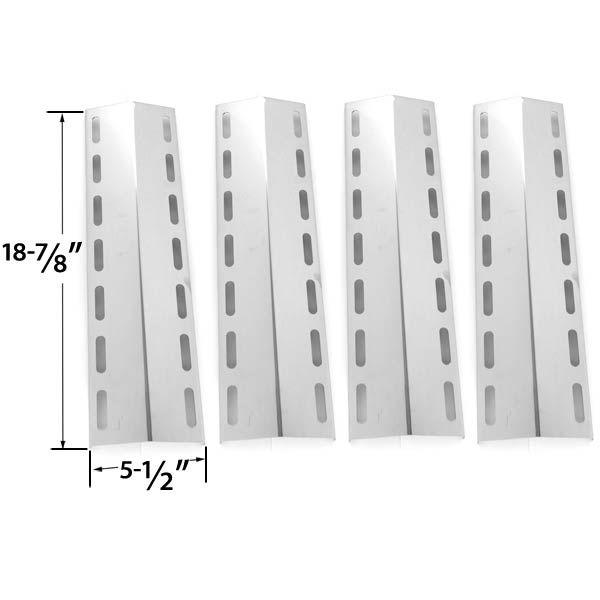 4 PACK STAINLESS STEEL HEAT SHIELD FOR FIESTA EHL1130-K410 & NEXGRILL 720-0133, 720-0133-LP GAS GRILL MODELS  Fits Fiesta Models: EHL1130-K410  BUY NOW @ http://grillrepairparts.com/shop/grill-parts/4-pack-heat-shield-for-fiesta-ehl1130-k410-nexgrill-720-0133-720-0133-lp-gas-grill-models/