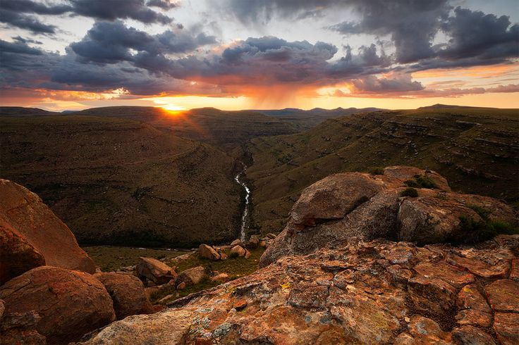 Clanville District, Eastern Cape Highlands, South Africa