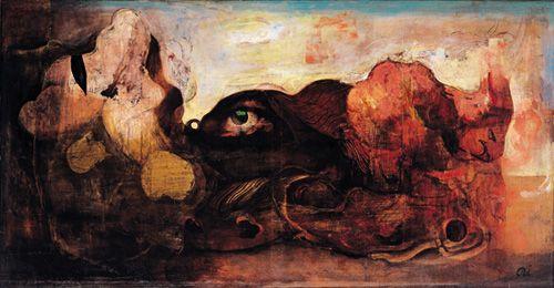 Landscape with an Eye(1938)  Ai-Mitsu